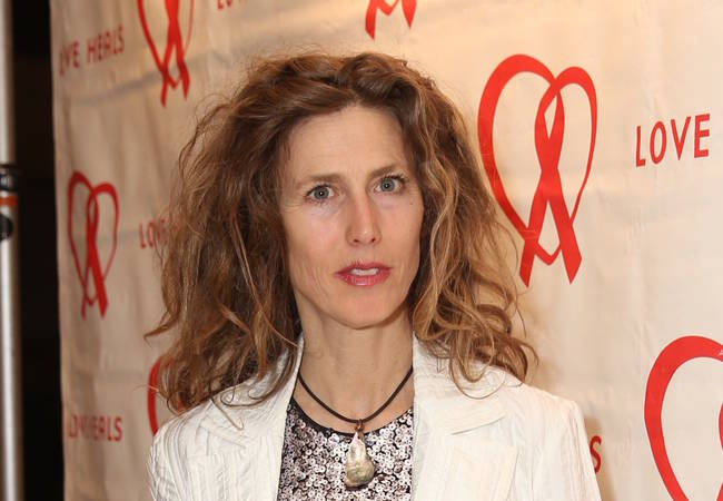 Sophie B. Hawkins is a new mom at 50