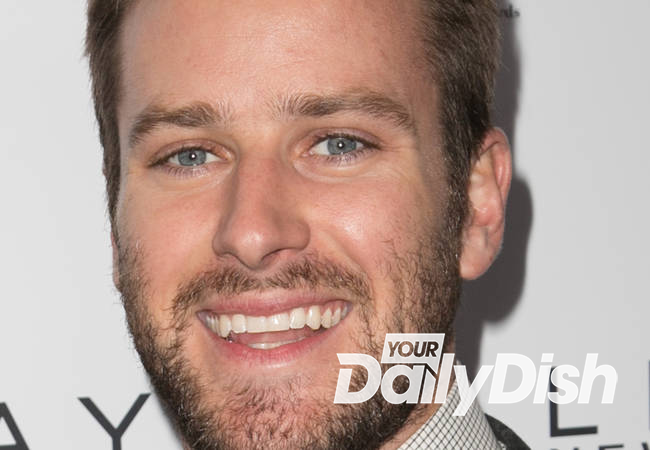 Armie Hammer inadvertently shared nude photos with hairstylist
