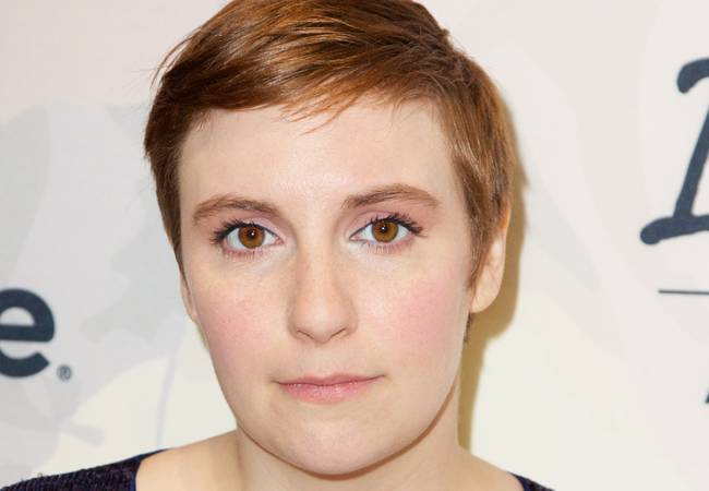 Lena Dunham realizes she isn