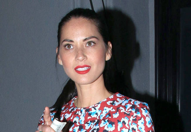 Olivia Munn slaps TV host during film interview