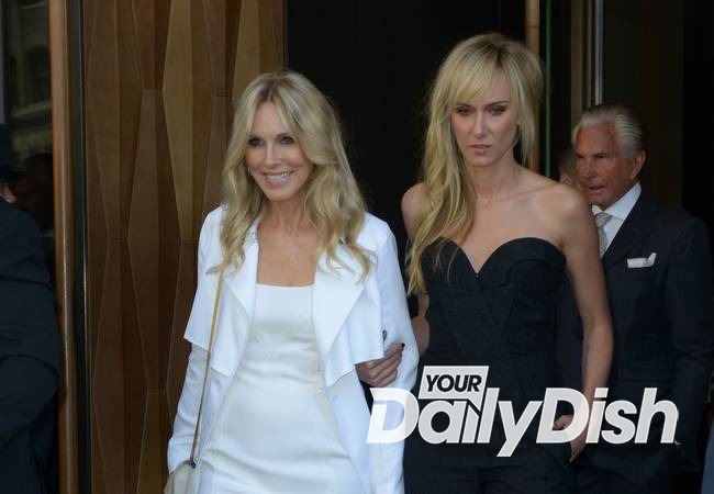 Alana Stewart and daughter Kimberly continue feud on live TV