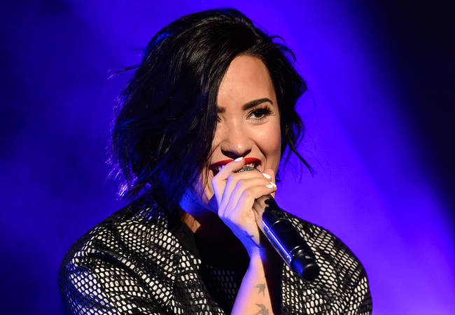 Demi Lovato steps in for Ariana Grande at MLB All-Star Game Concert