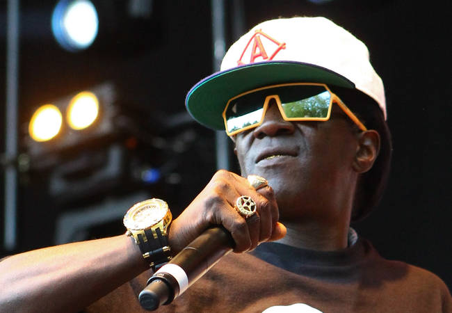 Flavor Flav hit with DUI charge following airport arrest