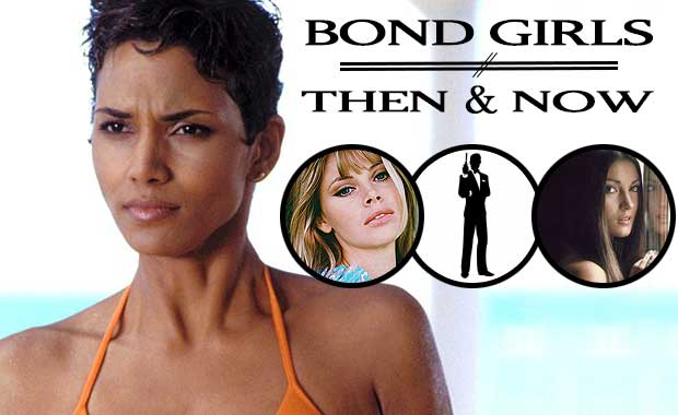 james bond girls then and now. Black Bedroom Furniture Sets. Home Design Ideas
