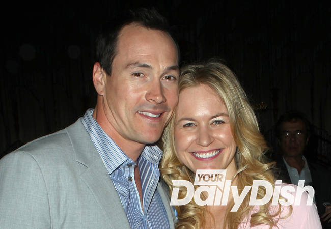 Actor Chris Klein weds