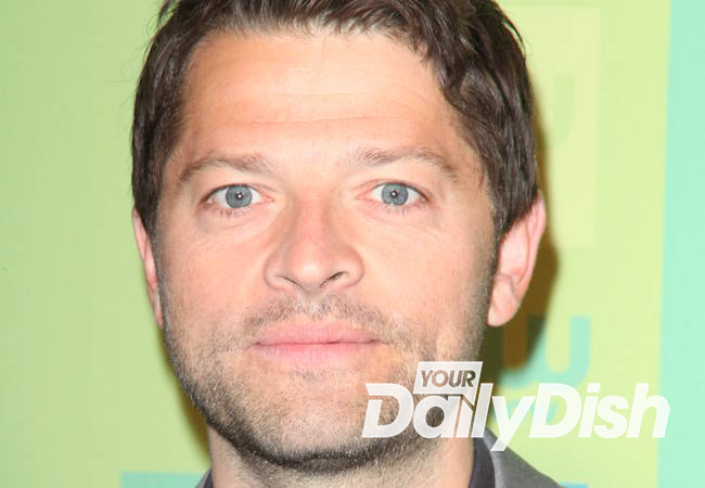 Supernatural star Misha Collins mugged