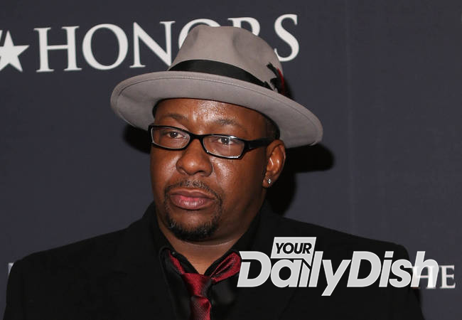 Bobby Brown back onstage after daughter