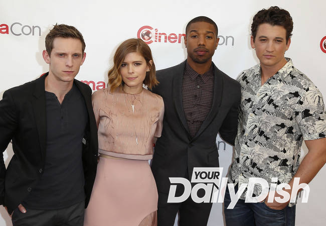 Michael B. Jordan and Kate Mara dodge awkward Fantastic Four questions