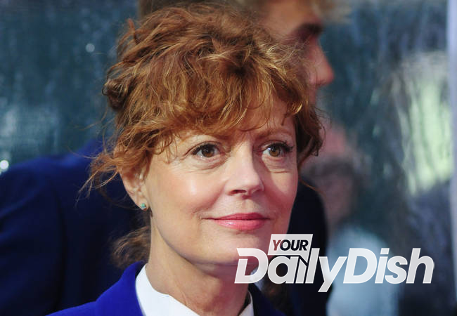 Susan Sarandon near tears as she considers the death of convicted killer