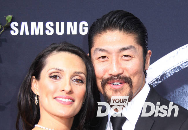 Actor Brian Tee is a first-time father