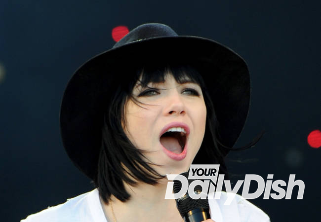Carly Rae Jepsen writes saucy song she can