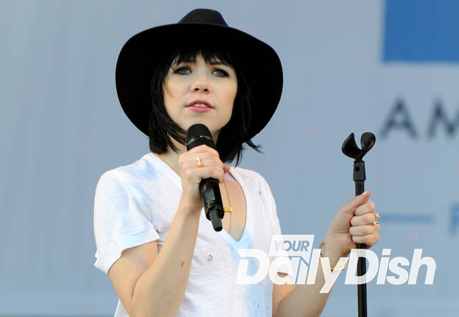 Carly Rae Jepsen calls off gigs as typhoon hits Asia