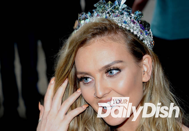 Perrie Edwards all smiles during first post-split interview