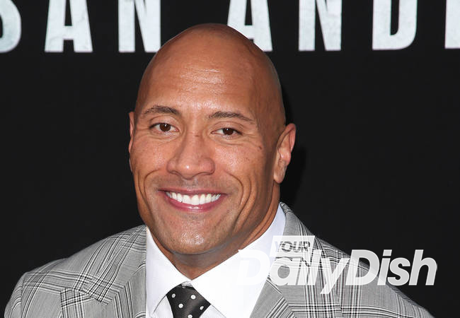 Dwayne Johnson saves dog in Labor Day weekend pool drama