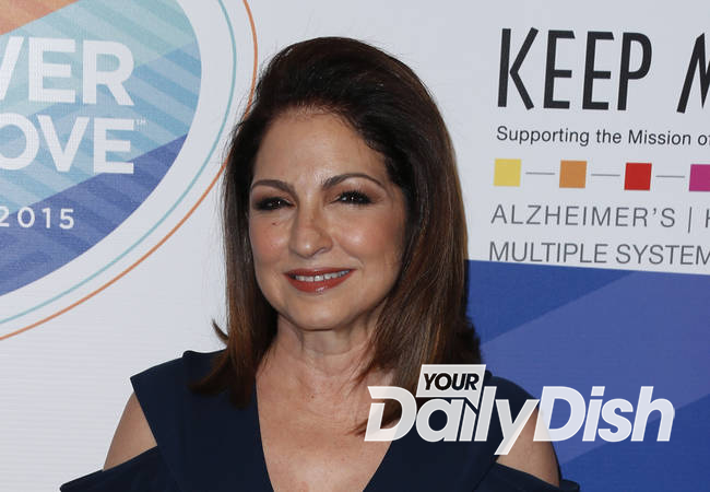 Gloria Estefan praying she doesn