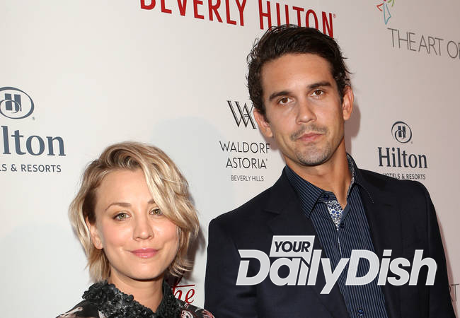 Kaley Cuoco-Sweeting and tennis ace husband split