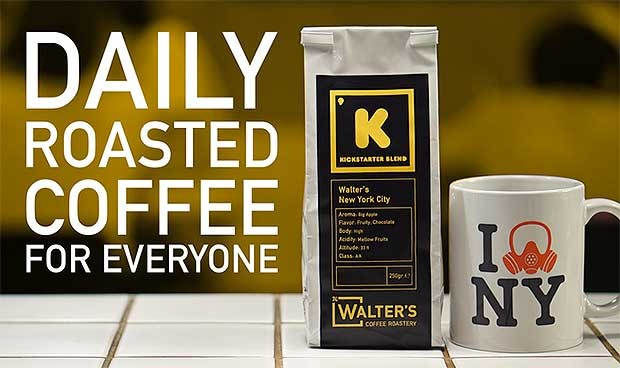 Source: Kickstarter/Walter's Coffee Roastery
