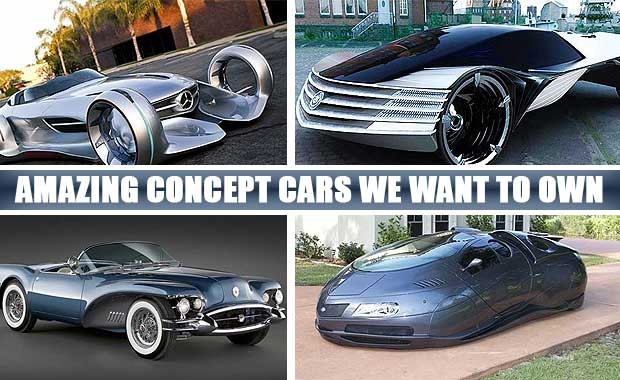 Cars From The Future Amazing Concept Cars We Wish We Could Buy
