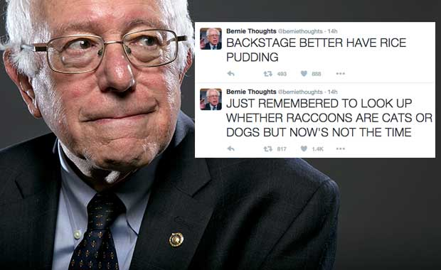 Source: AP/Bernie Thoughts-Twitter