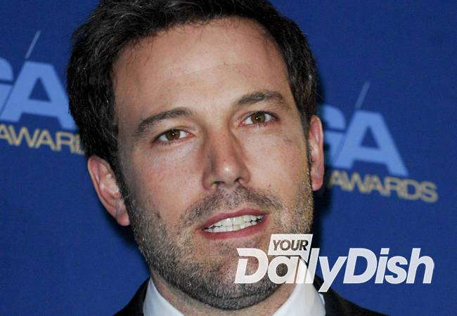 Ben Affleck reprised Batman for son