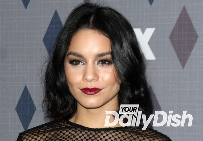 Vanessa Hudgens attends dad