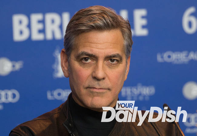 George Clooney put on the spot about refugee crisis at Berlin Film Festival