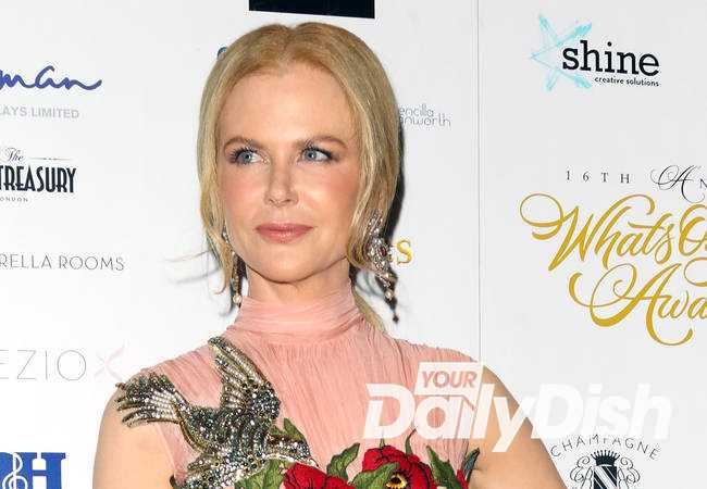 Nicole Kidman named best actress at WhatsOnStage Awards