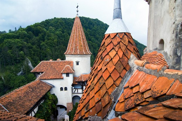 Source: Bran-castle.com / Top View