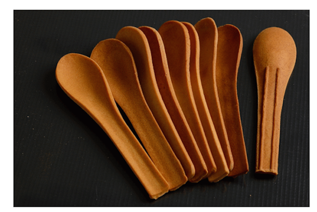 Source: Edible Cutlery, Sarah Munir