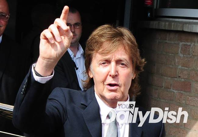 Paul McCartney rocks the boat for Pirates of the Caribbean