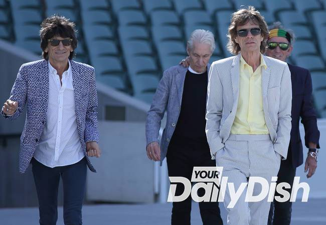 Rolling Stones touch down in Cuba ahead of historic gig