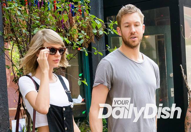 Taylor Swift and Calvin Harris post loved-up vacation pictures