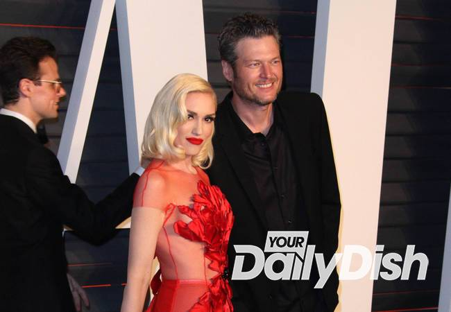 Gwen Stefani heading down the aisle?