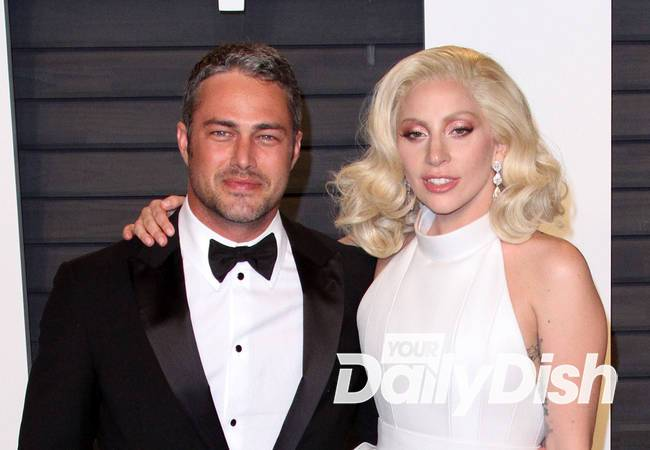 Lady Gaga and Taylor Kinney take the Polar Plunge