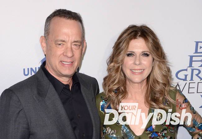 Tom Hanks and Rita Wilson sued over son