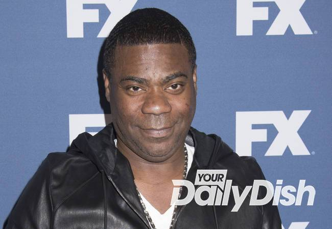 Tracy Morgan honours medical personnel during comedy show
