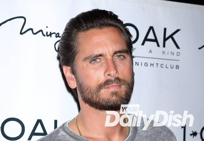 Scott Disick parties with Victoria