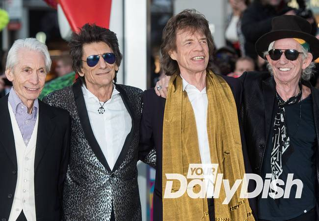 Bill Wyman reunites with Rolling Stones at London exhibit