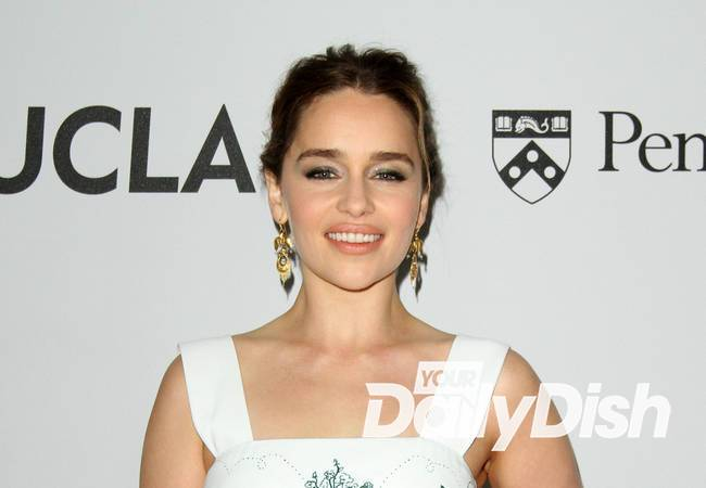 Emilia Clarke was plied with vodka for sexy cover shoot