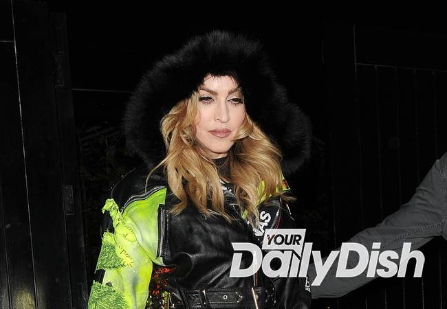 Madonna paints curb grey again after parking row