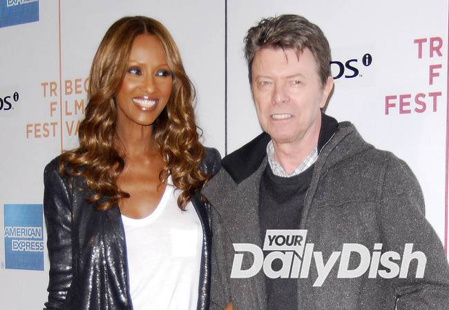 Iman loses mother two months after David Bowie