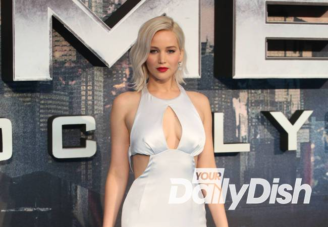 Jennifer Lawrence slips up at X-Men: Apocalypse premiere