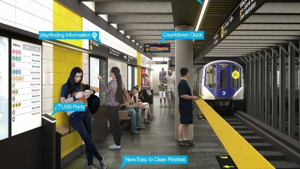 New subway platform designs MTA Renderings