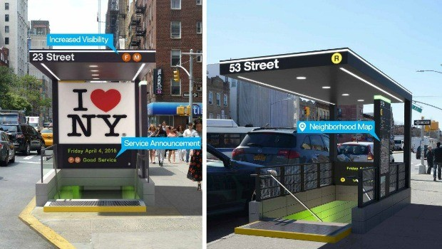 New Outdoor Stop Designs MTA Renderings