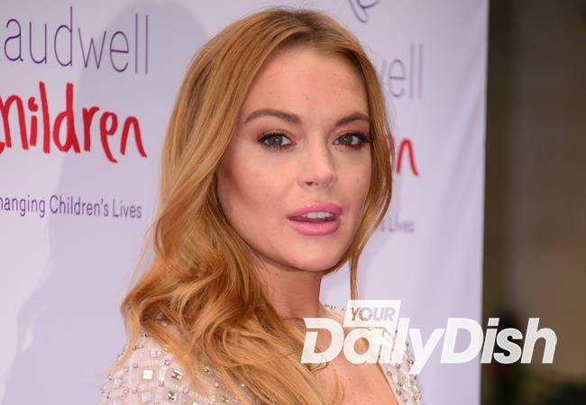 Lindsay Lohan publicized relationship drama out of