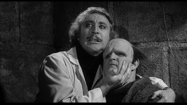 Wilder and the Late Peter Boyle in Young Frankenstein. Source: Bustle