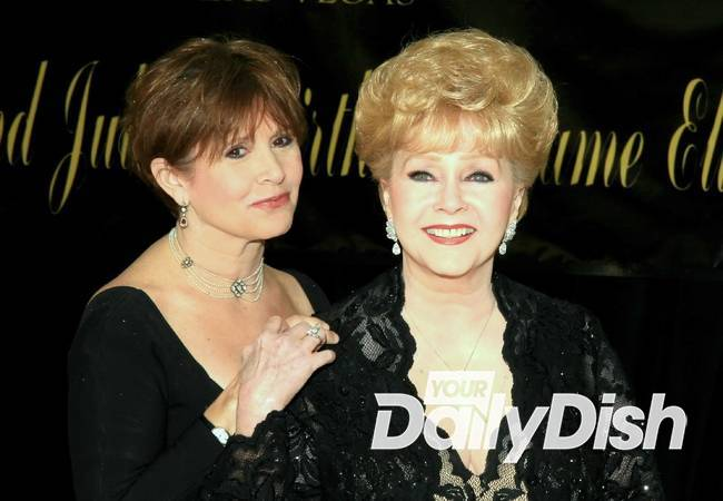 Carrie Fisher and Debbie Reynolds' headstone unveiled