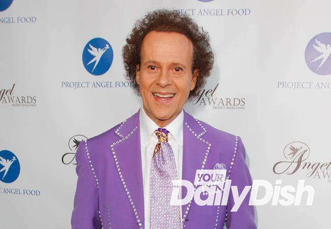 Richard Simmons sues tabloids over sex change articles
