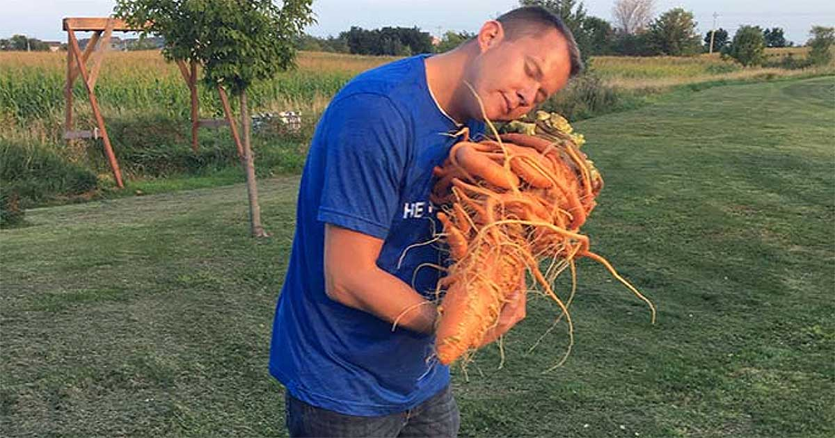 Christopher Qualley carrot