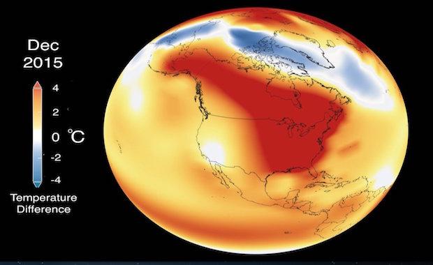 Nasa 2014 Warmest Year On Record
